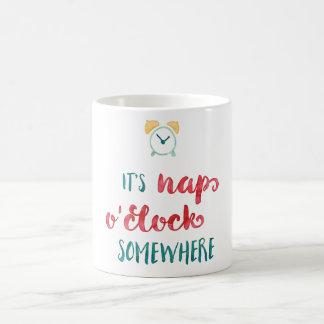 It's Nap O'Clock Somewhere Mug