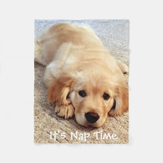 It's Nap Time Fleece Blanket