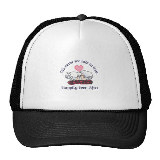 ITS NEVER TOO LATE TRUCKER HAT