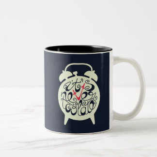 It's Never Too Late Two-Tone Coffee Mug