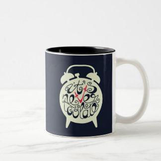 It's Never Too Late Two-Tone Mug