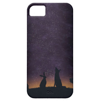 Its nice to stargaze with friends iPhone 5 cover