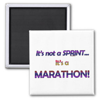 It's not a Sprint...2 Square Magnet