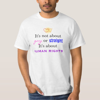 It's not about gay or straight T-Shirt