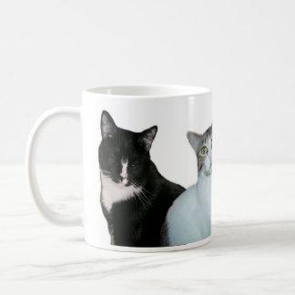 It's not always black and white. basic white mug