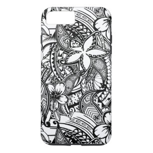 d37467649427 It s Not Always Black Or White Polynesian Tattoos Case-Mate iPhone Case