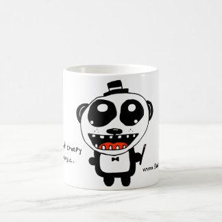 its not creepy its magic! mugs