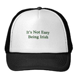 It's Not Easy Being Irish Mesh Hat