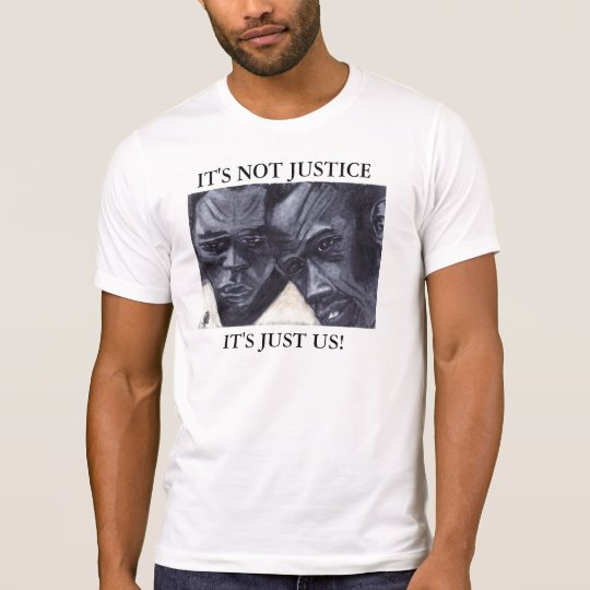 IT'S NOT JUSTICE Mens Hoody
