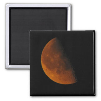 """It's Not Mars...It's Just the Moon"" Square Magnet"