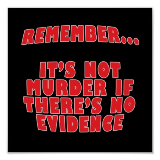 It's Not Murder Posters