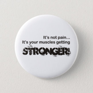 Its Not Pain... 6 Cm Round Badge