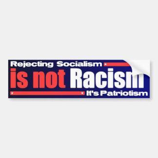 It's Not Racism Bumper Sticker