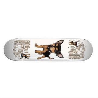 It's Not The Size 21.3 Cm Mini Skateboard Deck