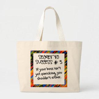 It's not time to panic yet jumbo tote bag