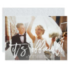 It's Official | Wedding Announcement