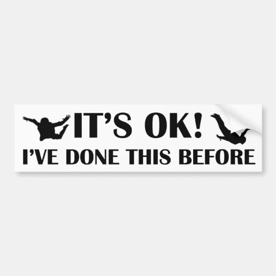 IT'S OK! BUMPER STICKER
