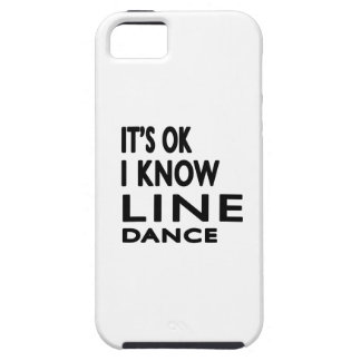 It's OK I Know Line dancing. iPhone 5 Cover