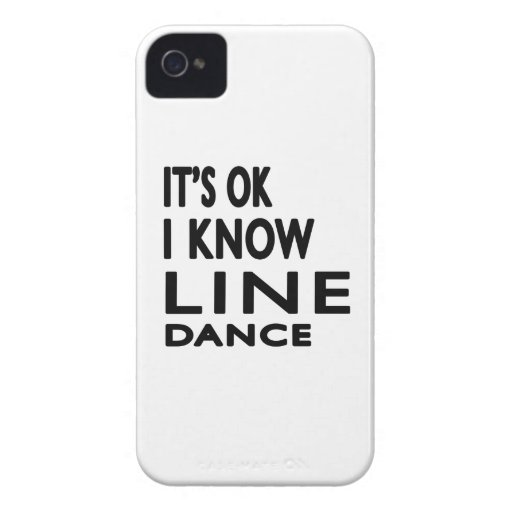 It's OK I Know Line dancing. iPhone 4 Covers