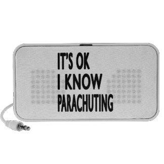 It's OK I Know Parachuting Laptop Speakers