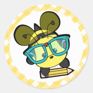 It's OK to BEE a Smarty! Round Sticker