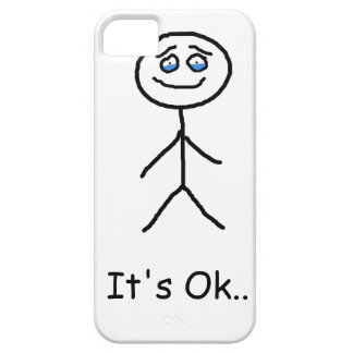 It's ok with tears iPhone 5 cover