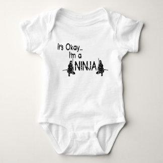 It's Okay...I'm a ninja Baby Bodysuit