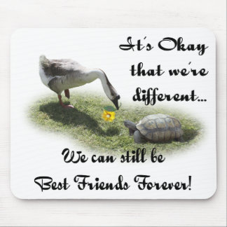 It's Okay That We're Different... Mouse Pad