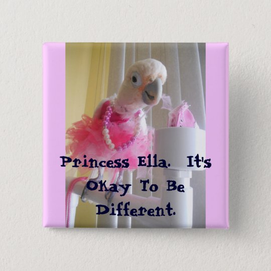 It's Okay To Be Different 15 Cm Square Badge