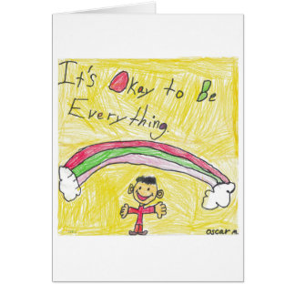 It's Okay to Be Everything Greeting Cards