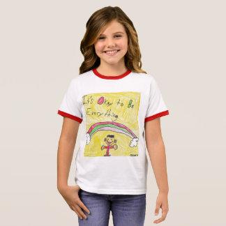 It's Okay to Be Everything Kids Ringer T Ringer T-Shirt