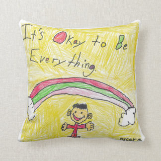 It's Okay to Be Everything Pillow