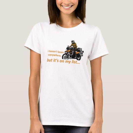it's on my list T-Shirt