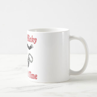 Its Only Kinky The First Time Basic White Mug