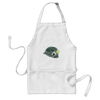 Its Over Sarge Standard Apron