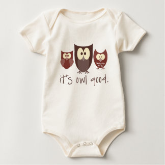 It's Owl Good Baby Bodysuit