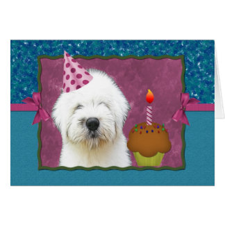 It's Pawty Time! OES Bday Card