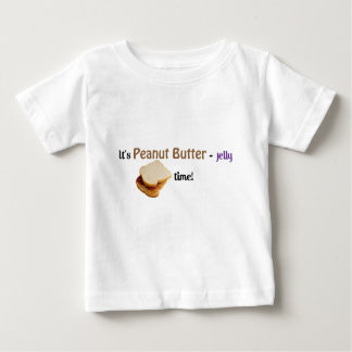 It's Peanut Butter-Jelly time! Baby T-Shirt