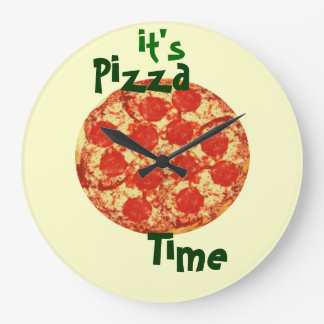 It's Pizza Time Clock