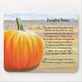 It's Pumpkin Time - Pumpkin Poem Mouse Pad