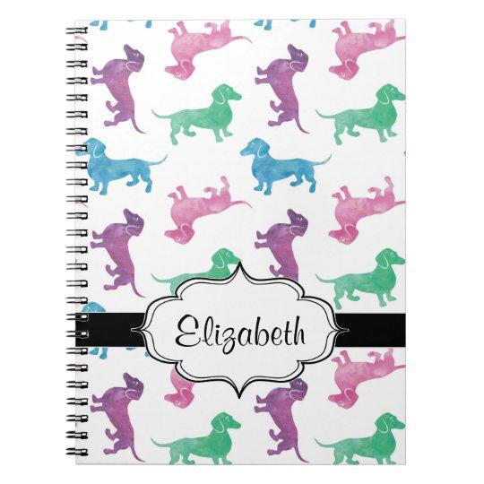 It's Raining Dachshunds Spiral Notebook