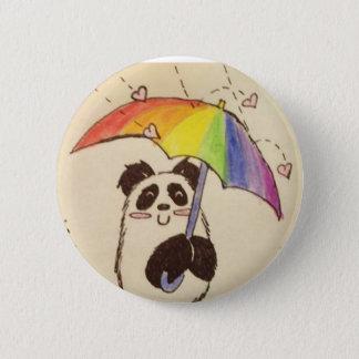 it's raining love anime panda shirt button