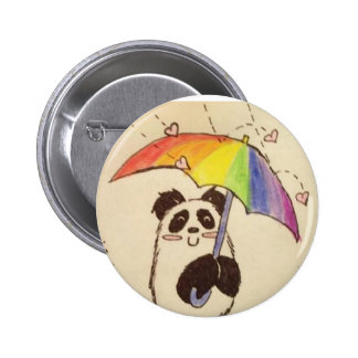 it's raining love anime panda shirt button