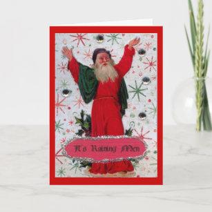 It's Raining Men Holiday Card