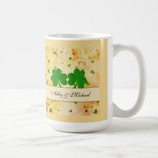 It's raining shamrocks coffee mugs