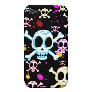 It's Raining Skulls iPhone 4 Speck Case Case For iPhone 4