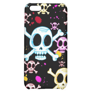 It's Raining Skulls iPhone 4 Speck Case Case For iPhone 5C
