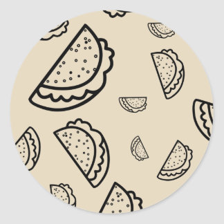 It's Raining Tacos Sticker