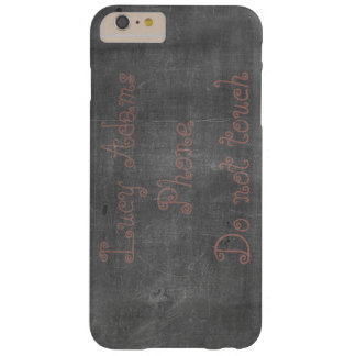 Its real Chalk - Customizable Barely There iPhone 6 Plus Case