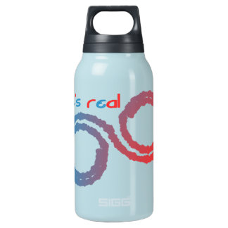 it's real 10 oz insulated SIGG thermos water bottle